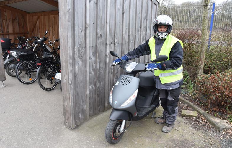 Prêt d'un scooter par le réseau mobilité