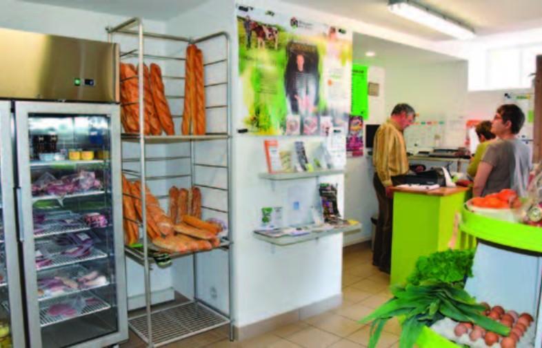 Commerce de proximité Le Vritzien à Vritz (44540)