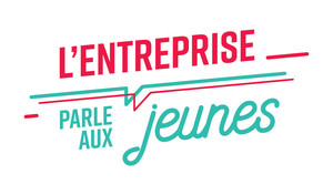 Logo l'Entreprise parle aux jeunes