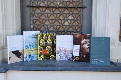 Sélection des livres du 9ème prix littéraire du Pays d'Ancenis