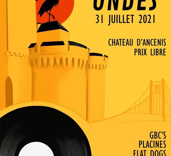Affiche Festival de musique Loire's onde 2021 - ANCENIS