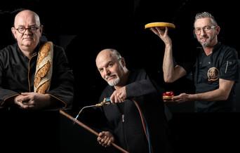 De gauche à droire : Vincent Beziaud, Jacques-André Moreau, Chirstophe Pasquier