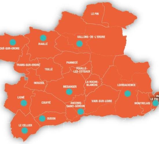 carte de localisation des bibliothèques qui ouvrent