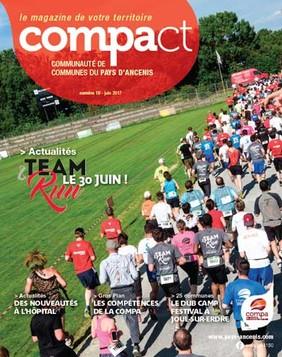 Couverture du Magazine Compact n° 18 - Juin 2017