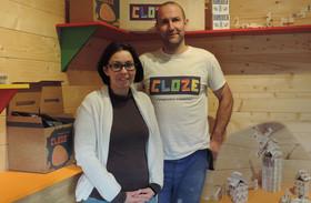 Sabrina et Philippe Le Coz dans leurs nouveaux bureaux