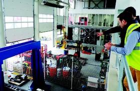 Intérieur du Centre de Recherches et Développements de Manitou Ancenis