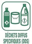 pictogramme Déchets Diffus Spécifiques (DDS)