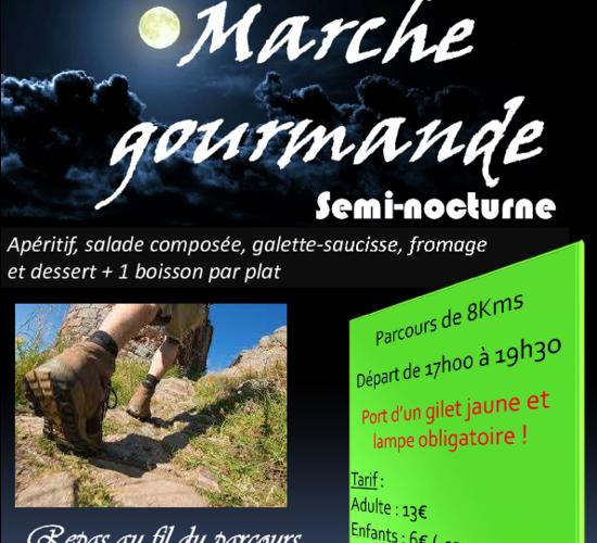 Marché semi-nocturne - LA ROCHE BLANCHE