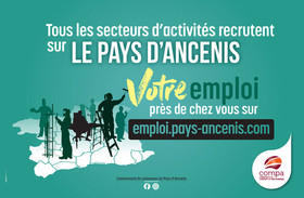 Tous les secteurs d'activités recrutent en Pays d'Ancenis, votre emploi près de chez vous sur emploi.pays-ancenis.com