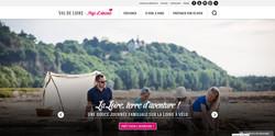 Page d'accueil site internet Office de Tourisme du Pays d'Ancenis