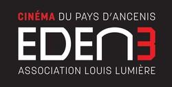 logo du Cinéma du Pays d'Ancenis Eden 3 Association Louis Lumière