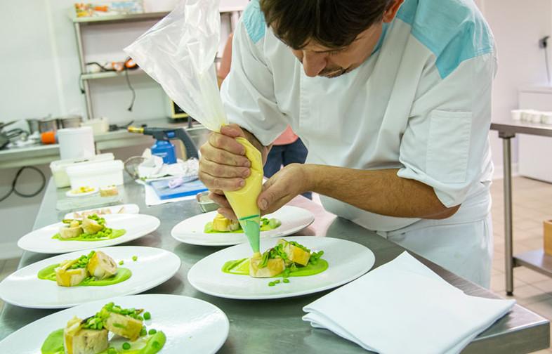 Christophe Crand, du restaurant La Charbonnière à Ancenis