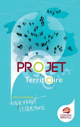 Couverture du Projet de territoire COMPA