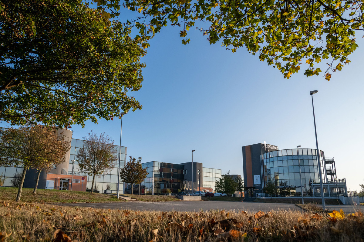 Immeubles de bureaux de la zone d'activités de l'Aéropôle à Ancenis-Saint-Géréon