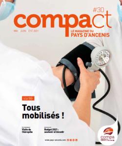 Une du Magazine Compact n° 30 - mai-juin-été 2021