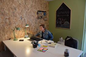 accueil de l'espace de co-working