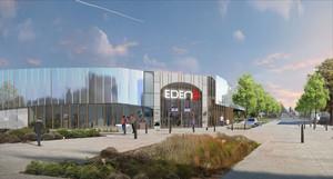 façade du Cinéma Eden 3 - Ancenis