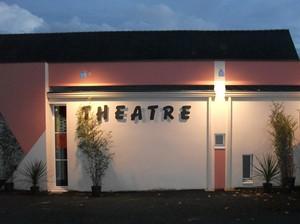 façade du Nouveau théâtre - Teillé
