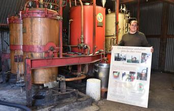 Alexandre Saucet, distillateur ambulant