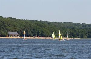 Base de loisirs du Lac de Vioreau à Joué-sur-Erdre