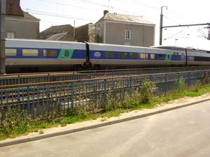 Ligne TGV Nantes-Angers