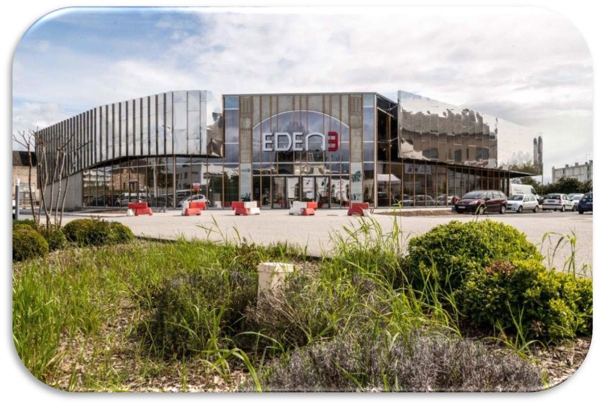 façade du nouveau cinéma eden 3 d'Ancenis-Saint-Géréon