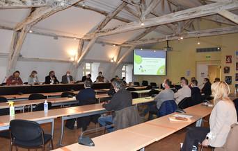 Réunion élus COMPA Plan Local de l'Habitat