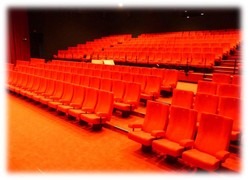 les fauteuils de la salle 1 du cinema eden 3
