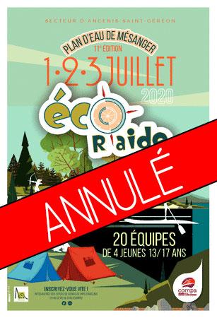 affiche Eco R'aide 2020 annulé