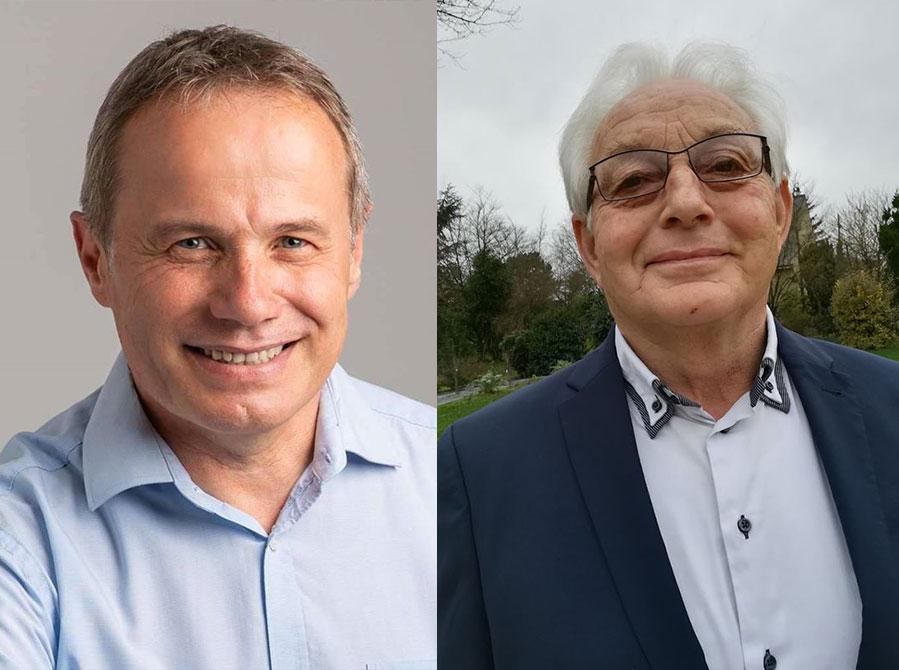 Rémy Orhon et Alain Tusseau
